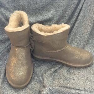 Sparkly Bearpaw Boots
